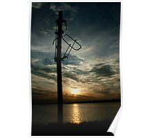 Signals over sundown Poster