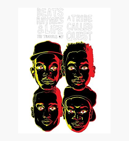 ATCQ BEATS RHYMES AND LIFE A TRIBE CALLED QUEST  Photographic Print