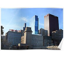 The Chicago Skyline Poster
