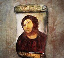 ECCE HOMO Spanish Fresco Restoration by labelia