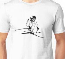 Alpine Ski Unisex T-Shirt