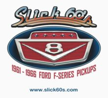 Slick 60's V8 Emblem Design by snuggles