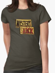 Gravity Falls Mystery Shack Womens Fitted T-Shirt