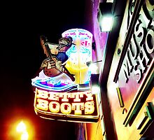 Boot Store Sign - Nashville, TN by SylviaS