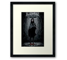 It's Raining Framed Print