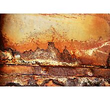 Rusty Water Tank # 3 Photographic Print