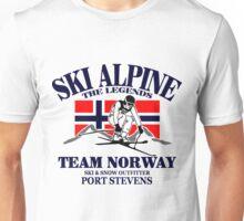 Norwegian Alpine Ski Unisex T-Shirt
