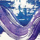 Purple Swirl3 by Sandy  Coleman