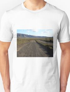 The road is uncertain / Road to no where T-Shirt