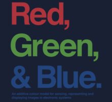 Red, Green & Blue by hami