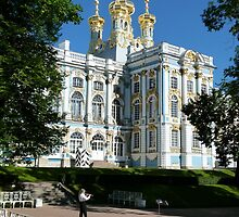 Catherine Palace, Pushkin, Russia. by Trish Meyer