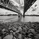 Natchez Bridges by Peter Denniston