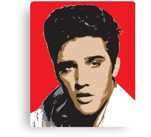 Elvis Presley - Pop Art Portrait Canvas Print