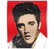 Elvis Presley - Pop Art Portrait Poster