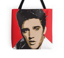 Elvis Presley - Pop Art Portrait Tote Bag