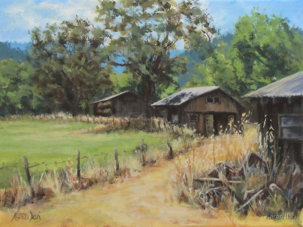"""On the Ranch"" by Karen Ilari"