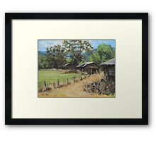 """On the Ranch"" Framed Print"