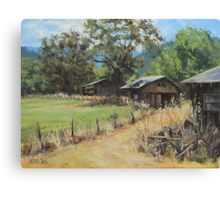 """On the Ranch"" Canvas Print"