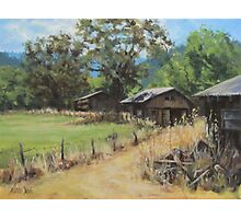 """On the Ranch"" Photographic Print"