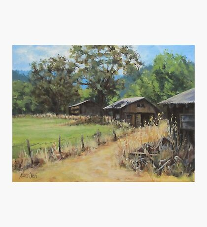 """""""On the Ranch"""" Photographic Print"""