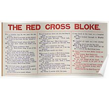 The Red Cross bloke 482 Poster