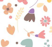 Flower pattern 04 Sticker