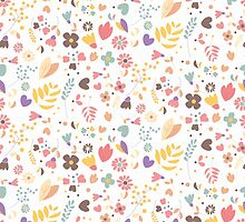 Flower pattern 04 by BlueLela