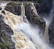 Thundering water over the falls by hereswendy