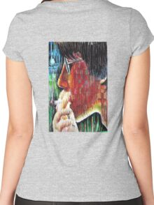 midnight toker Women's Fitted Scoop T-Shirt