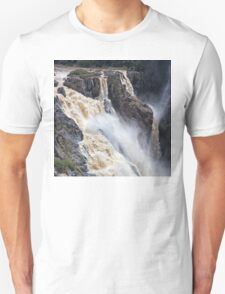 Thundering water over the falls T-Shirt