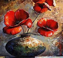 Poppies by Imre Toth (Emerico)