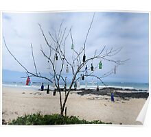 Bottle tree. Poster