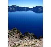 Crater Lake from Merriam Point, OR 2012 Photographic Print