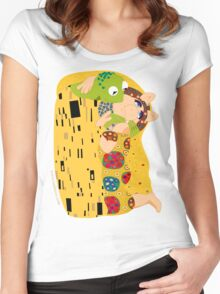 Klimt muppets Women's Fitted Scoop T-Shirt