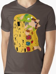 Klimt muppets Mens V-Neck T-Shirt