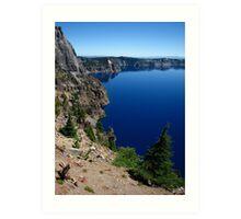 Llao Bay, Crater Lake, OR 2012 Art Print