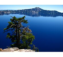 Brilliant Blue, Crater Lake, OR 2012 Photographic Print