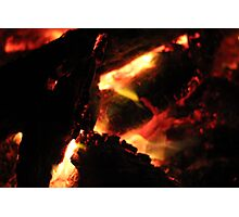 2459 Creation Fires Photographic Print