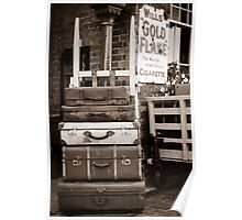 Luggage left for the Porter. Poster