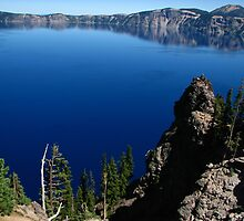 Crater Lake from Discovery Point, OR 2012 by J.D. Grubb