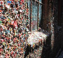 The Market Theater Gum Wall.... by DonnaMoore