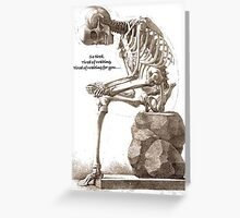 Tired of Waiting  Greeting Card