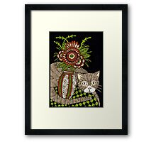 The Look Out (Colour Version) Framed Print
