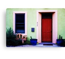 Every wall is a door.  Canvas Print