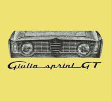 Alfa Romeo Giulia Sprint GT Kids Tee