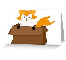 I WANT A FOX Greeting Card