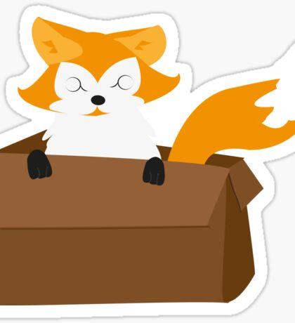 I WANT A FOX Sticker