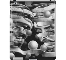 In the style of Escher iPad Case/Skin