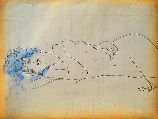 melancholia by Loui  Jover