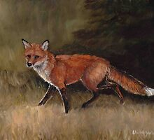 Red Fox by Charlotte Yealey